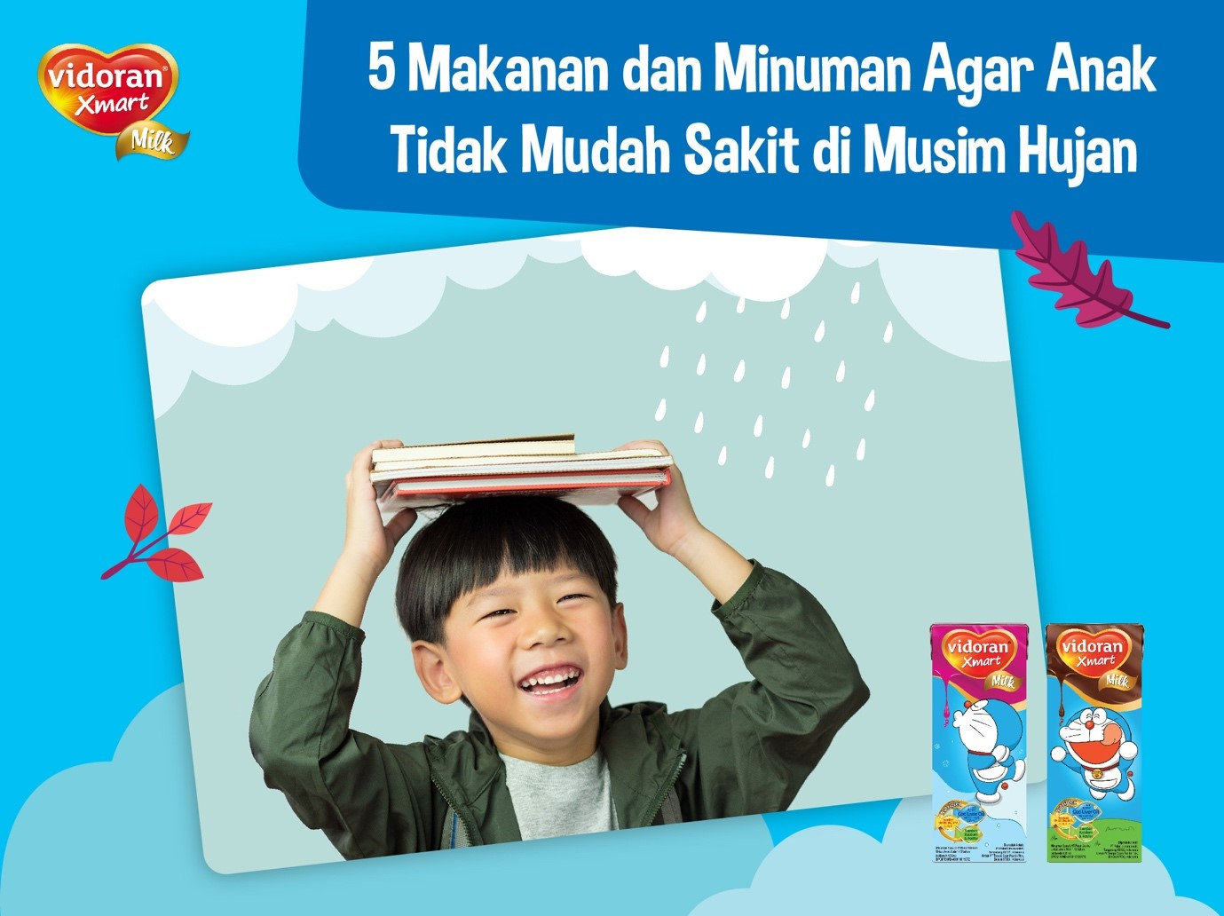 5 Makanan dan Minuman Agar Anak Tidak Mudah Sakit Di Musim Hujan