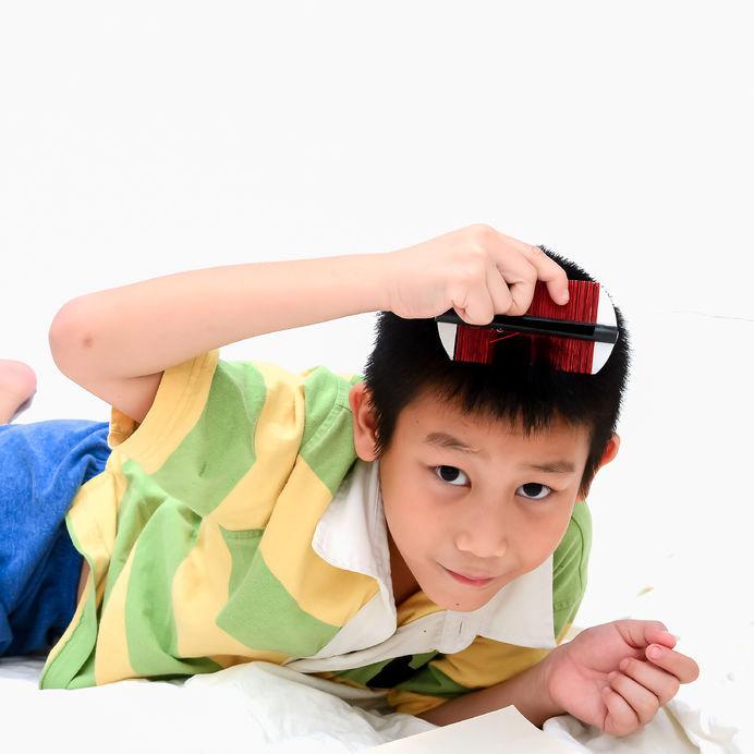 Mengatasi Masalah Rambut Pada Anak