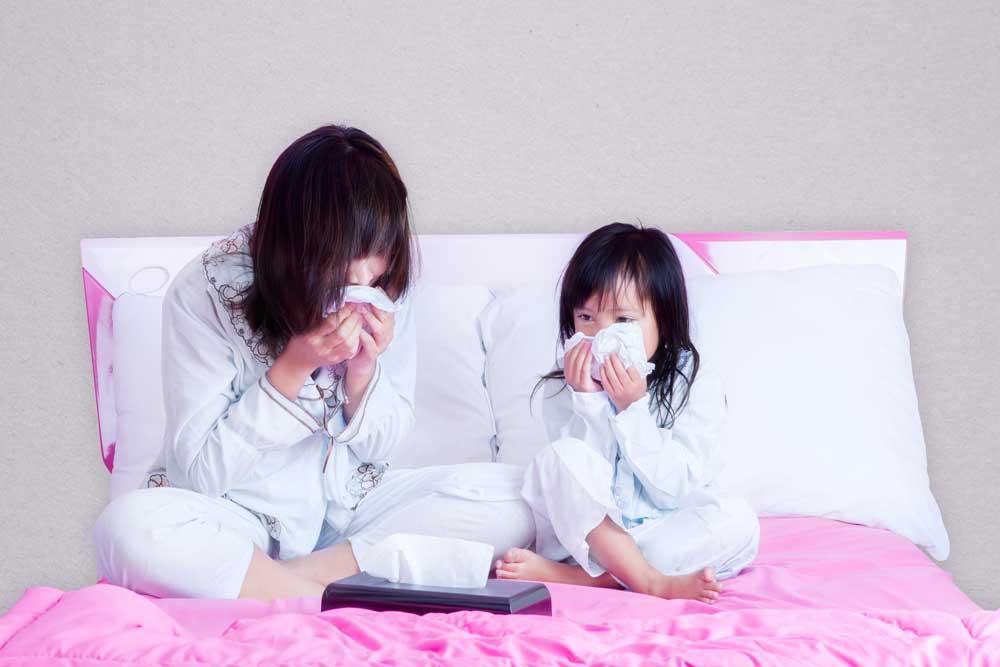 Musim Hujan Waspadai Alergi Udara Dingin