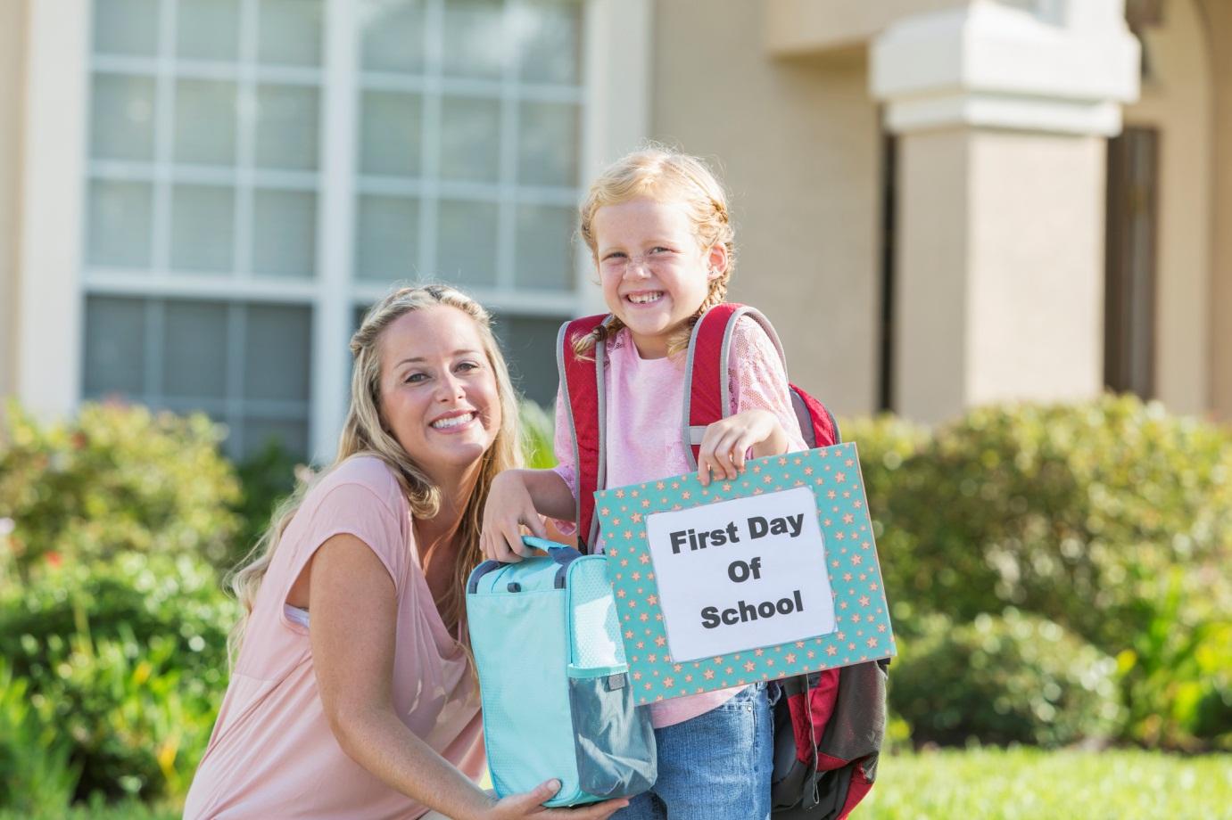 Tips Menghadapi Hari Pertama Sekolah