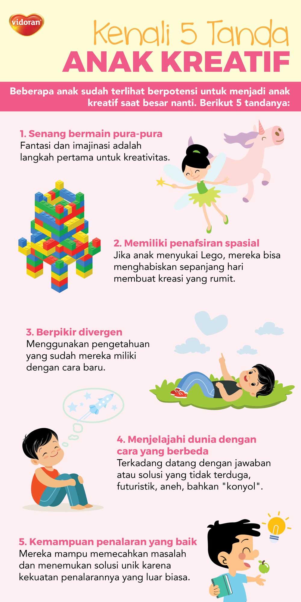 Kenali 5 Tanda Anak Kreatif