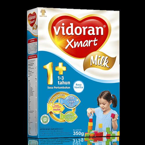 Susu vidoran Xmart 1+ Rasa Vanilla