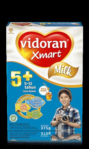 Susu vidoran Xmart 5+ Rasa Madu