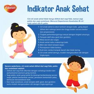 Indikator Anak Sehat